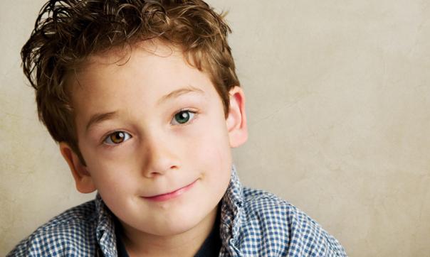 Heterochromia Child
